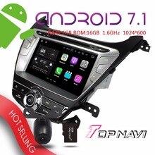 """WANUSUAL 8 """"Android 7.1 de Navegación GPS Del Coche para Hyundai Elantra 2014 Auto Multimedia Bluetooth a habilitar Wifi enlace Espejo jugadores"""