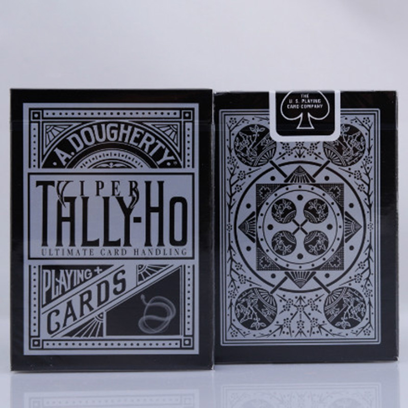 Tally-Ho Viper Deck Ellusionist Playing Cards Original Poker Cards for Magician Collection Card Game