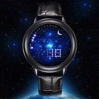 GEEKTHINK Fashion Top Brand Digital Led Watch Men Women Unisex Wristwatch Casual Luxury Male Clock Female