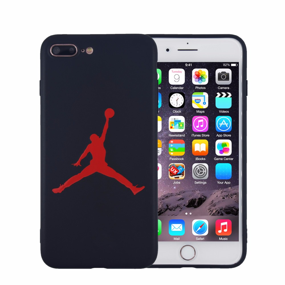 Fashion basketball flyman michael jordan phone case for iphone 8 plus 5 5 inch matte soft - Iphone 8 plus case ...
