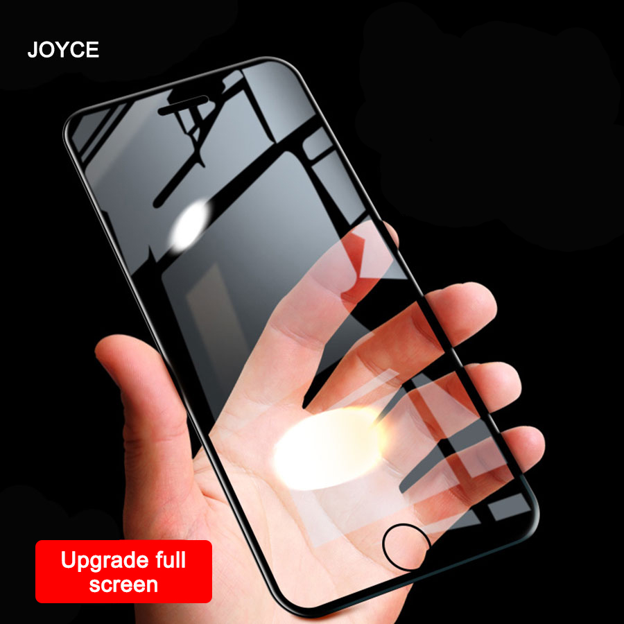 JOYCE 5D Screen Protector Iphone 7 8 Tempered Glass For IPhone 6s Plus  8Plus Protective Film Glass Full Cover Free Shipping