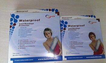 6pcs in a set  waterproof bandage cast for hand, short arm, long arm, foot, short leg, long leg bandage protector