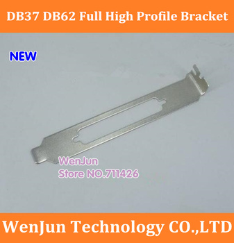 new PCI PCI-E DB37 DB62 Port Full High Profile Bracket PC Computer DIY replace plate for MOXA Card
