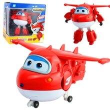 15 cm Ukuran Super Besar Sayap mainan jett jerome mira paul bello donnie transformasi Robot Pesawat jimbo Action Figure Untuk Anak-anak hadiah