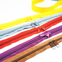 Coil-Zippers Garment-Accessories Shoes Sewing-Bags Nylon for DIY 24-Colors-Available