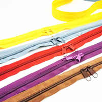 5Meters 5# Nylon Coil Zippers For DIY Sewing Bags Shoes Garment Accessories 24 Colors Available