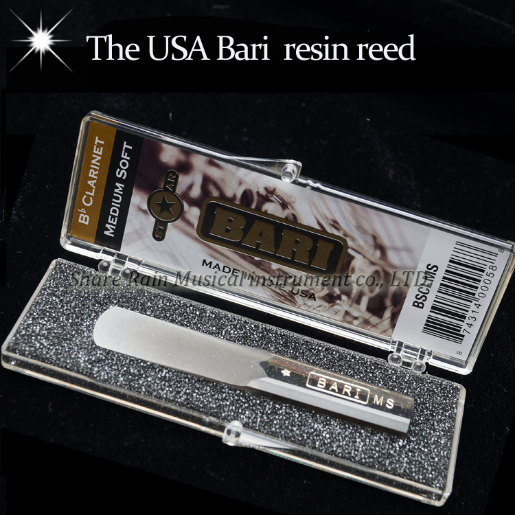 The  USA BARI  resin clarinet reed  with  star