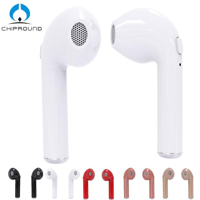 73e8958dd98 HBQ i7 TWS gemelos auriculares inalámbricos Bluetooth V4.2 Stereo  Auriculares auriculares para iPhone 7