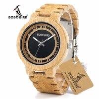 BOBO BIRD L N19 Modern Watch Wooden Wristwatch Men Top Brand Origin Handmade Fashion Watches for Men in China