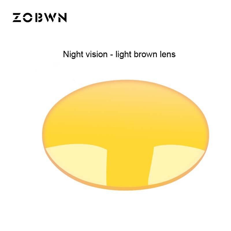 Lunettes de soleil polarisées vision nocturne lunettes de vue verres de prescription pour la nuit indice extérieur 1.50 uv400 pour la conduite nocturne du poisson