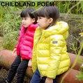 5 цвета зимние девушки вниз пальто толстые теплые девушки куртку детей специальные капюшоном куртка пальто верхняя princessdown куртка для девочки