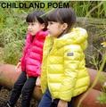 5 cores de inverno meninas para baixo jaqueta casaco grosso meninas quentes crianças jaqueta com capuz casaco parka outerwear princessdown especial para a menina