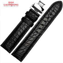 Laopijiang Alligator leather strap imported high end fashion strap 18 19 20 21 22mm