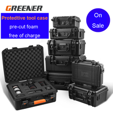 Outdoor Protective Safety Case Shockproof Waterproof Boxes Plastic Tool Box Dry Box Safety Equipment Tool Storage with foam стоимость
