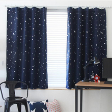 Blackout curtains Modern Curtains For Living Room Window Bedroom Finished Fabrics Drapes blinds
