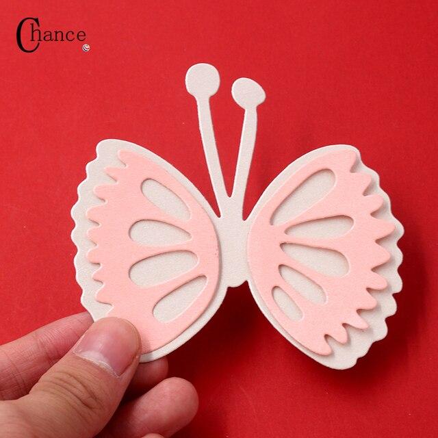 Butterfly Metal Die Cutting Dies Stencils troqueles DIY Scrapbooking Embossing Folder Card Album Paper