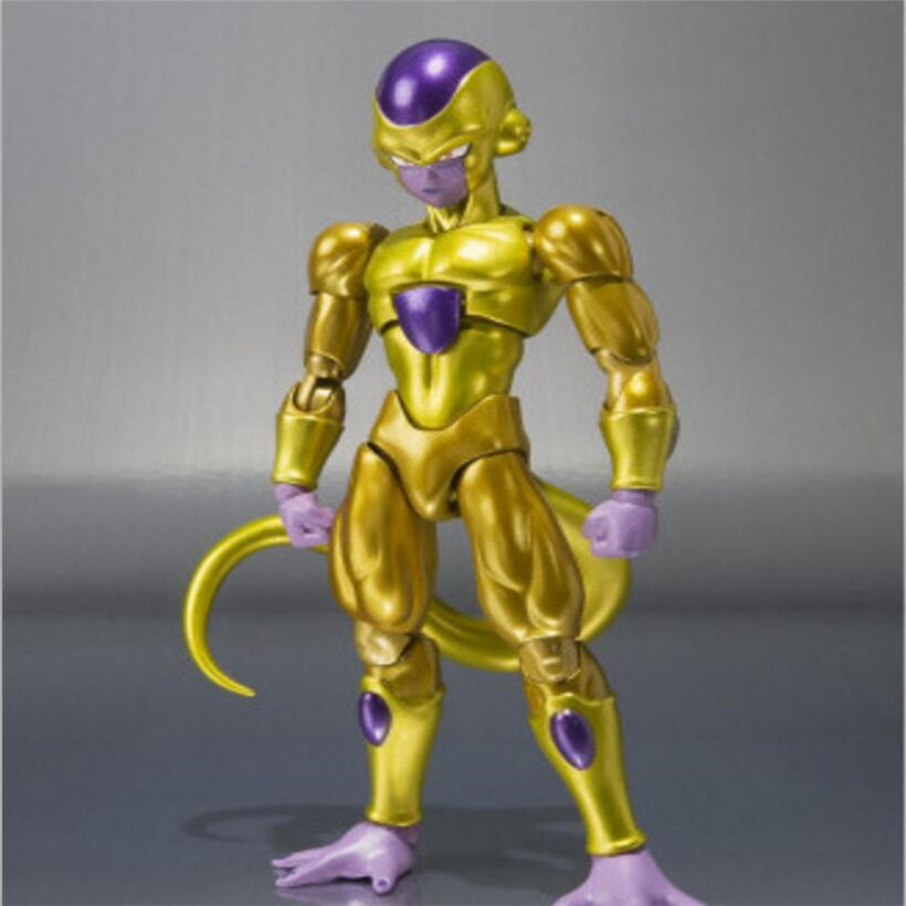 12 CM Anime Dragon Ball Super Golden Dragon Flisa Joint Movable Toy PVC Model Action Figure Juguetes Kids Toys Christmas Gifts free shipping super big size 12 super mario with star action figure display collection model toy