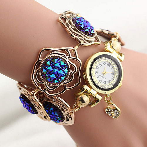 New 2018 Bracelet Wrist Watch Women Watches Ladies Luxury Brand Famous Quartz Watch Female Clock Montre Femme Relogios Feminino mjartoria ladies watches clock women quartz watch simple sport bracelet watch student girl female hand wrist watches for women