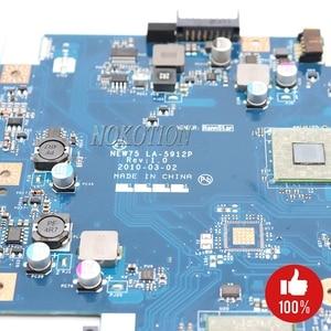 Image 4 - NOKOTION האם מחשב נייד עבור Acer aspire 5551 5551G E640 DDR3 משלוח מעבד NEW75 LA 5912P MBNA102001 MB. NA102.001 Mainboard