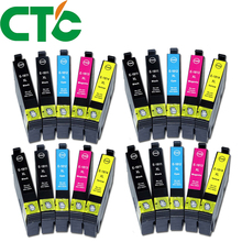 20 Pack 18xl T1811  Ink Cartridge Compatible for INK Expression Home XP-30 XP-102 XP-202 XP-205 XP-302  XP-305 XP-402 XP-405 original new pickup roller kit feed roller for epson xp 33 xp 102 xp 103 xp 202 xp 203 xp 205 xp 207 xp 212 xp 215 xp 420 xp 302