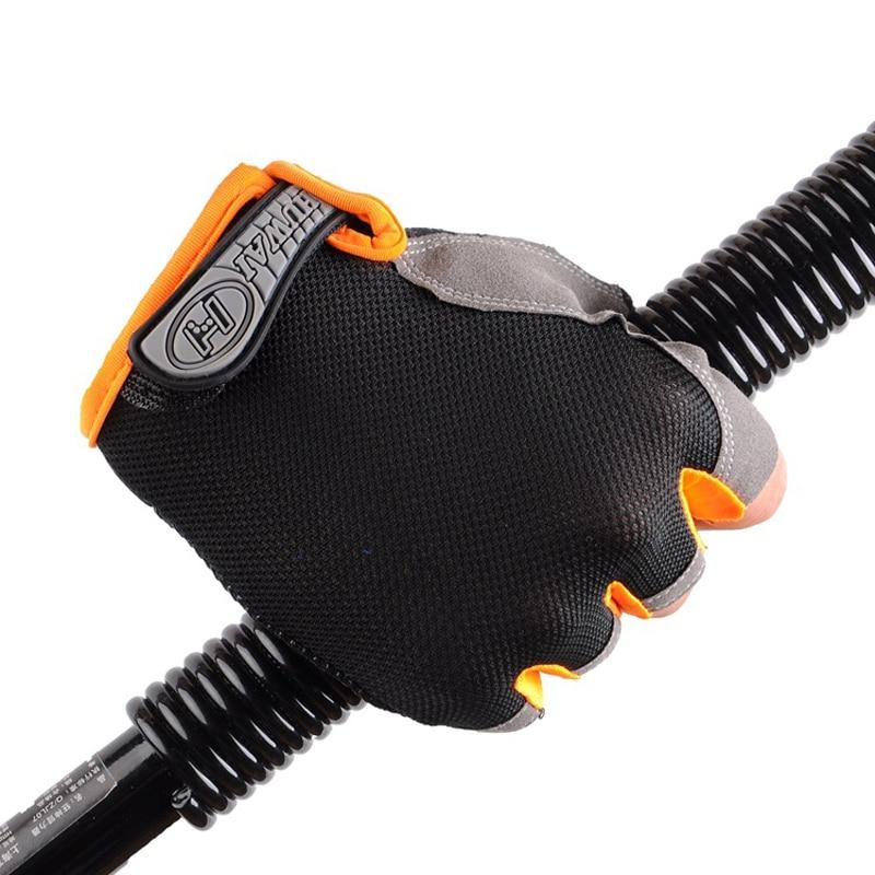 New Sports Gym Gloves Men Training Exercise Anti Slip Weight Lifting Gloves Half Finger Body Workout Men Fitness Glove Women(China)
