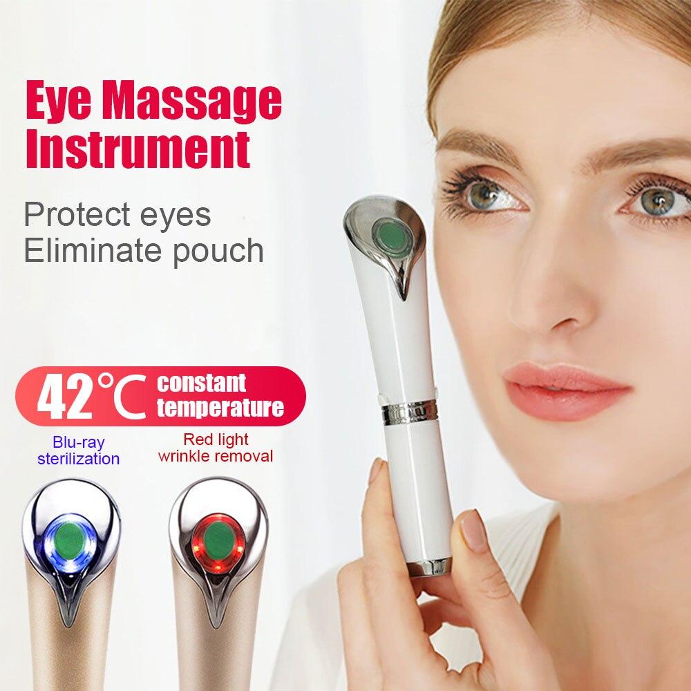 Masseur électrique pour les yeux stylo Anti-rides dissolvant cernes contre les poches masseur appareil de Massage naturel yeux soins de la peau