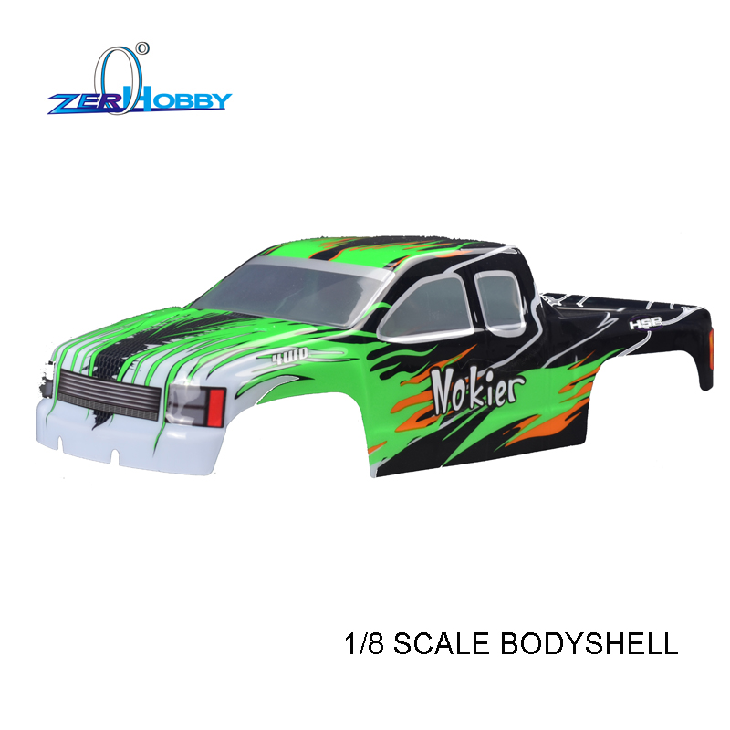 HSP RC CAR TOYS ACCESSORY 1/8 SCALE BODY SHELL FOR HSP NOKIER REMOTE CONTROL RC CAR MODEL 94762 MONSTER TRUCK rc car spare parts accessories body shell 37 5 22 5 for hsp 1 8 scale remote control bazooka buggy car 94081 94081gt 94081gt e9