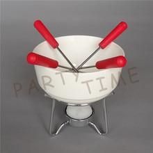 Ceramic Chocolate Fondue Set, Home-made Chocolate Fondue Bowl