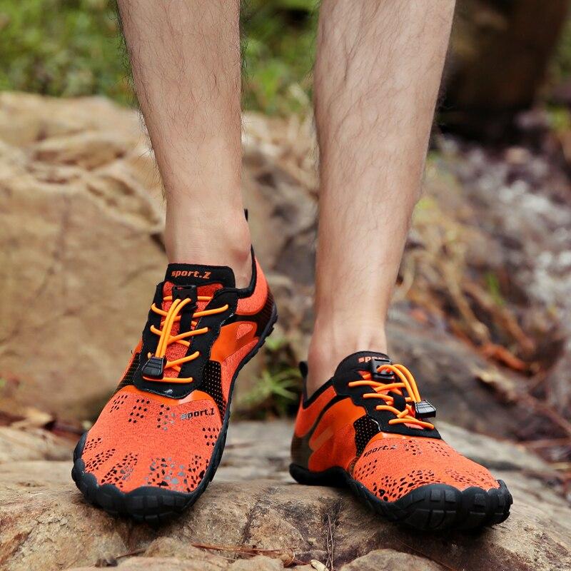 0dea0babfc2b Summer Running Shoes For Men Five Fingers Barefoot Men Sneakers Outdoor  Lightweight Quick Dry Aqua Shoe