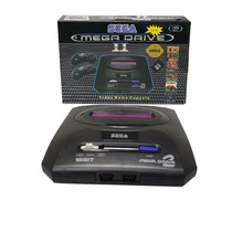 16 BIT  retro TV video game console support MicroTF card wired dual controller Built in 9 games for SEGA MEGA DRIVE MD2