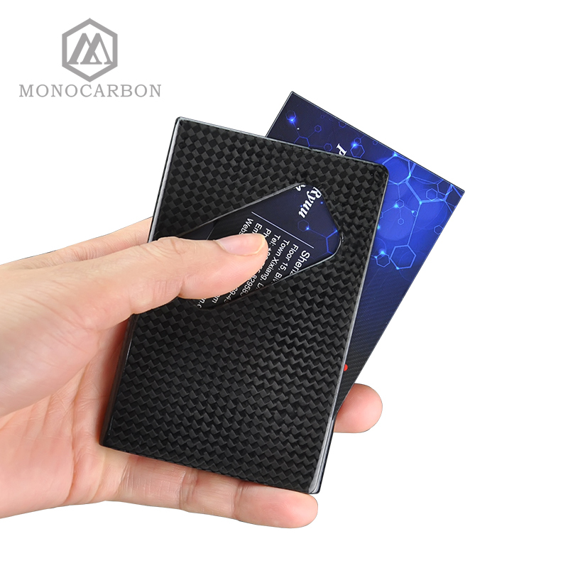2017 Newest Design Deluxe Real Pure Carbon Fiber Business Name ...