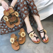 Fashion 2019 Summer Woman Shoes Bohemia Sandals Slippers Flat Sandals Slippers Flip Flops Soft Women Sandals Ladies Shoes цены онлайн