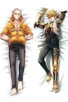 Japanese Anime Hugging Body Pillow Cover Case ONE PUNCH MAN Saitama Genos pillowcases one punch-man for Cosplay Gifts 1