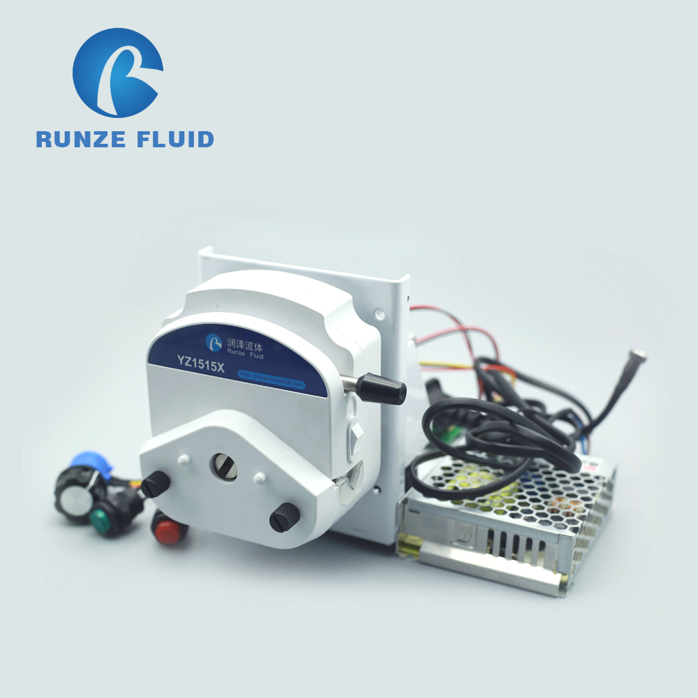 Semi automatic Speed Adjustable Peristaltic Pump with Holder