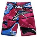 2016 HOT Men Shorts Quick Dry Brand Summer Casual Clothing Geometric Shorts Men'S Sea Board Beach Shorts