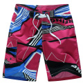 2016 HOT Men Shorts Quick Dry Marca Verão Roupas Casuais Geométricas Shorts Men Board Shorts Da Praia Do Mar