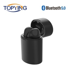 X10 Mini Bluetooth 5.0 Earphone True Wireless Stereo Earbuds Headset with Microphone Charging Box for iPhone Xiaomi Huawei 2017 ttlife twins bluetooth earphone true wireless mini stereo headset airpods with charge box earbuds for iphone 7 xiaomi phone
