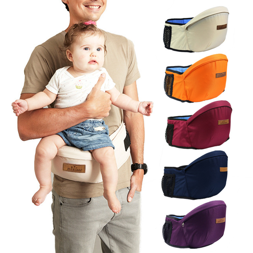 Baby Carrier Hip-Seat Waist-Stool-Walkers Hold Waist-Belt Infant 45-Degree-Sling