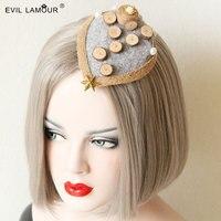 الأميرة لوليتا التيجان قبعة خمر عطلة الرياح اليدوي الأصلي الصيف شخصية بوهيمية كليب الإكسسوارات fj-24