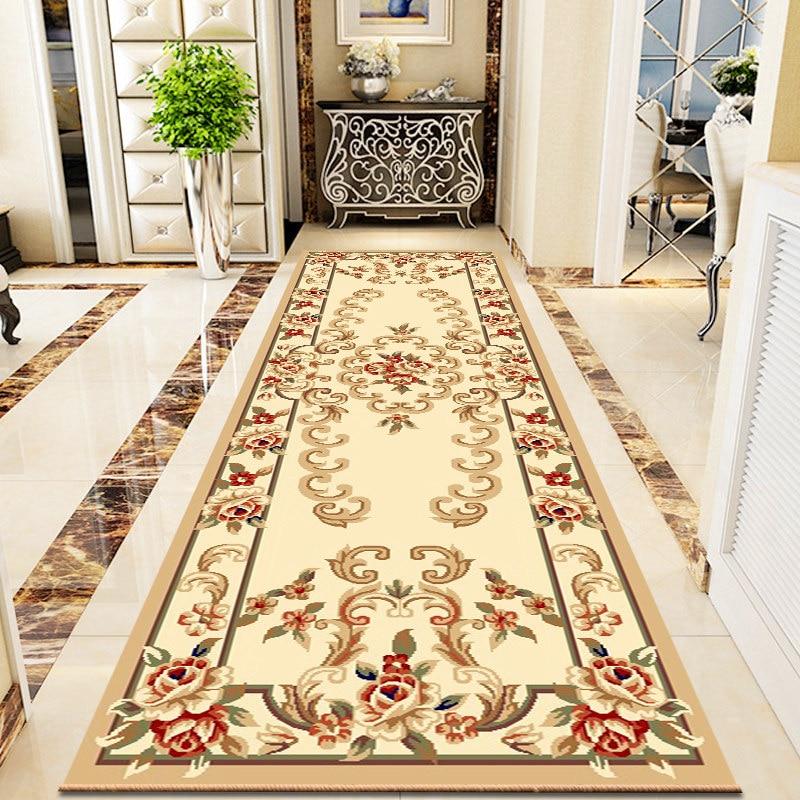 Luxury Polypropylene Stair Carpet Home Entrance/Hallway Rug Long Corridor Carpets Sofa Coffee Table Floor Mat Office Area Rugs