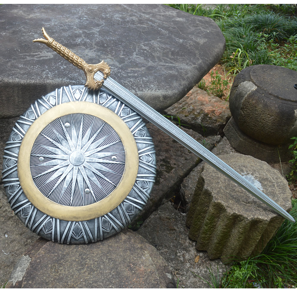 Wonder Woman DC Wonder woman weapons cosplay  props shield Wonder Woman Divine power shield 1: only Shield(No SWORD)