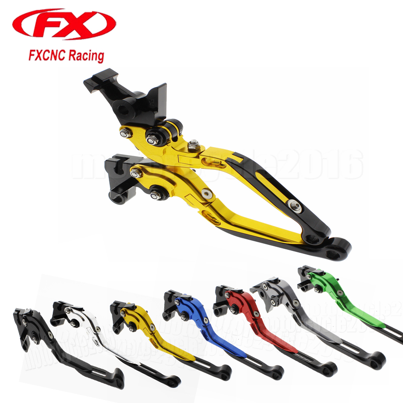FXCNC Foldable Extendable Moto Motorcycle Brake Clutch Levers For Yamaha SUPER TENERE XT1200ZE 2012-2016 2013 2014 2015 2016 billet extendable folding brake clutch levers for yamaha xt 1200 z super tenere 12 15 xjr 1300 04 15 fjr 1300 abs 04 14 06 07