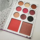Hot Makeup Eyeshadow Palette New 11 Color Eyeshadow Pink Color Bright Face Valentine's Eyeshadow Palette