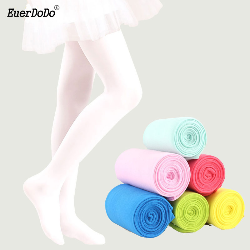 High Elastic Tights For Girls White Ballet Ballet Tights Teenager 2-15 Years Girl Pantyhose Children's Stockings Baby Clothing