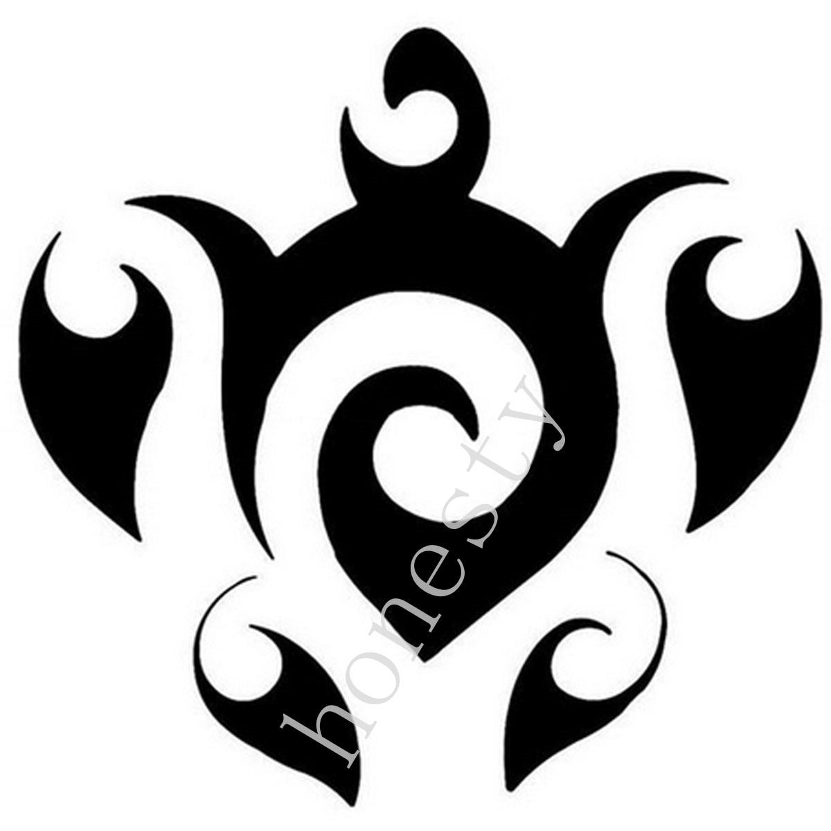 Tribal conception animale autocollant de voiture stickers moto autocollants car styling accessoires noir blanc dans autocollants de voiture de automobiles
