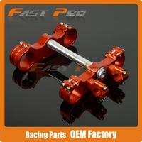 CNC Billet Triple Clamps For KTM SX SXF XCW XCFW EXC EXCF 125 530 MX Motocross Enduro Supermoto WP 54/60MM Fork