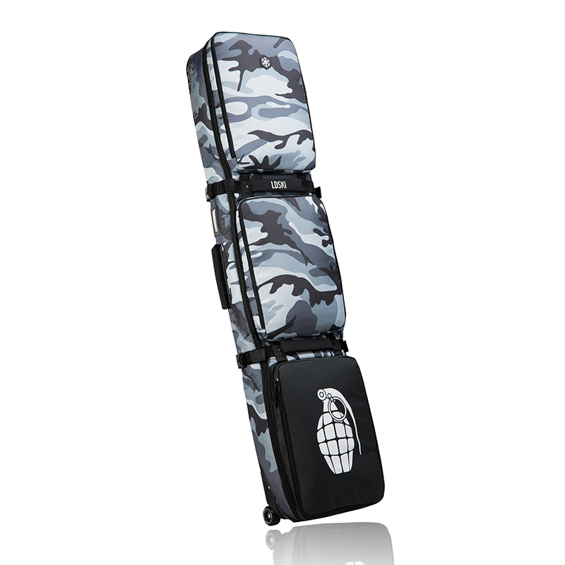 142/148/158/168/178/188 cm Ski Skis Snowboard sac avec roues \ Snowboard protection sacs à dos \ grand imperméable portable a5338