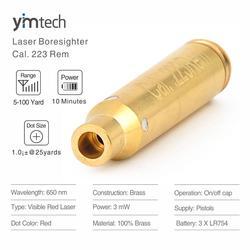 Cal Laser punto rojo. 223 Rem Laser signs para pistolas, alcance efectivo de 5-100 yardas