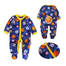 hot deal buy near cutest 2018 newborn baby romper long sleeve fleece baby boy girl clothes casual baby clothing infant suit