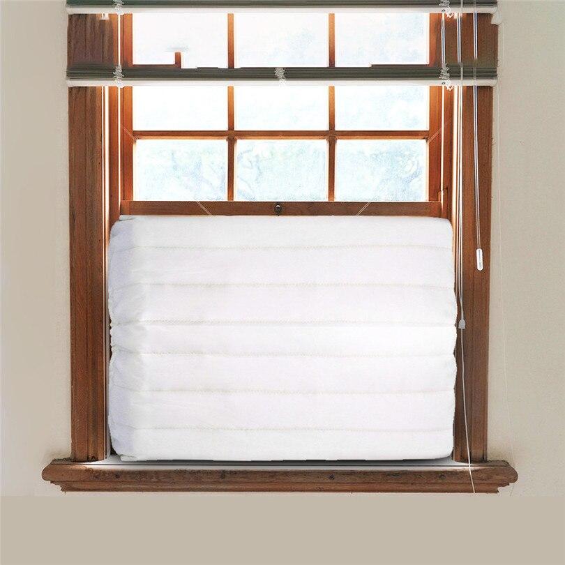 Anti-staub Anti-schnee Reinigung Abdeckung Fenster Innen Klimaanlage Abdeckung Für Klimaanlage Innen Einheit #3m05